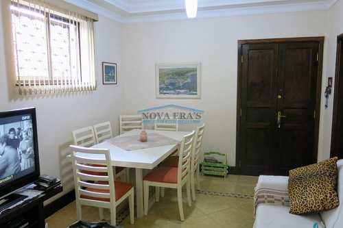 Apartamento, código 154 em São Vicente, bairro Centro