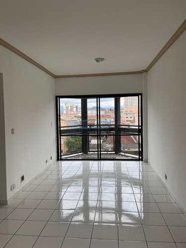 Apartamento, código 163 em São Vicente, bairro Itararé
