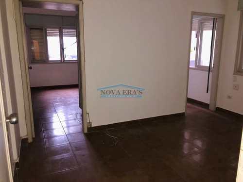 Apartamento, código 400 em São Vicente, bairro Itararé