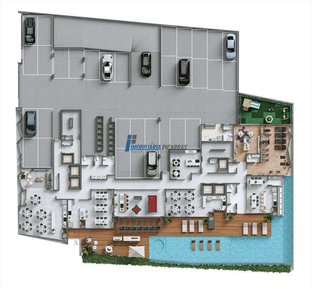 Apartamento em Balneário Piçarras, no bairro Centro