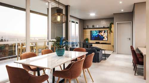 Apartamento, código 140 em Balneário Piçarras, bairro Centro