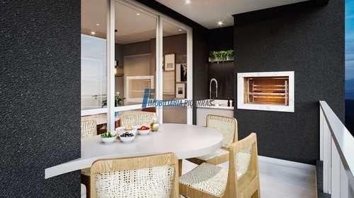 Apartamento, código 141 em Balneário Piçarras, bairro Centro