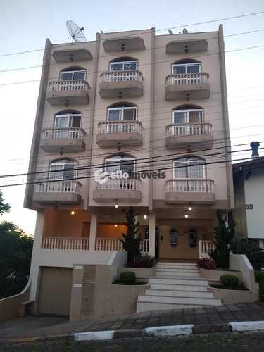 Apartamento, código 167 em Lages, bairro Centro