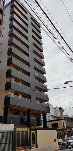 Apartamento, código 24 em Praia Grande, bairro Guilhermina
