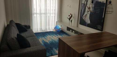 Apartamento, código 59 em Praia Grande, bairro Guilhermina