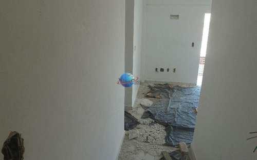 Apartamento, código 407 em Praia Grande, bairro Aviação
