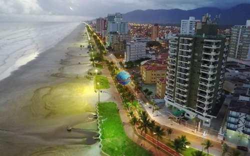 Apartamento, código 1546 em Praia Grande, bairro Caiçara