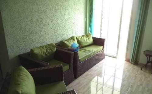 Apartamento, código 4222 em Praia Grande, bairro Mirim