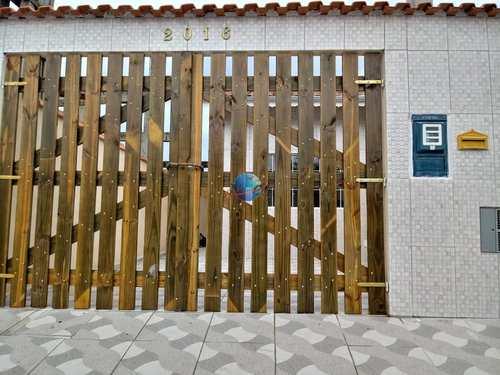 Casa, código 4560 em Praia Grande, bairro Samambaia
