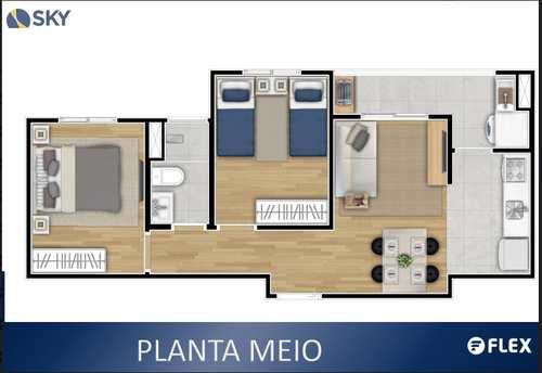 Apartamento, código 6 em Cotia, bairro Parque Rincão