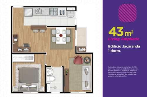 Apartamento, código 14 em Cotia, bairro Parque Rincão