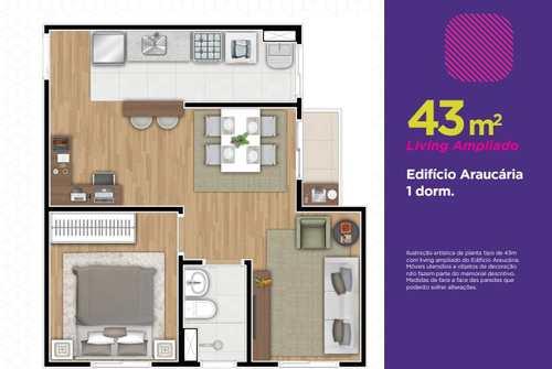 Apartamento, código 15 em Cotia, bairro Parque Rincão