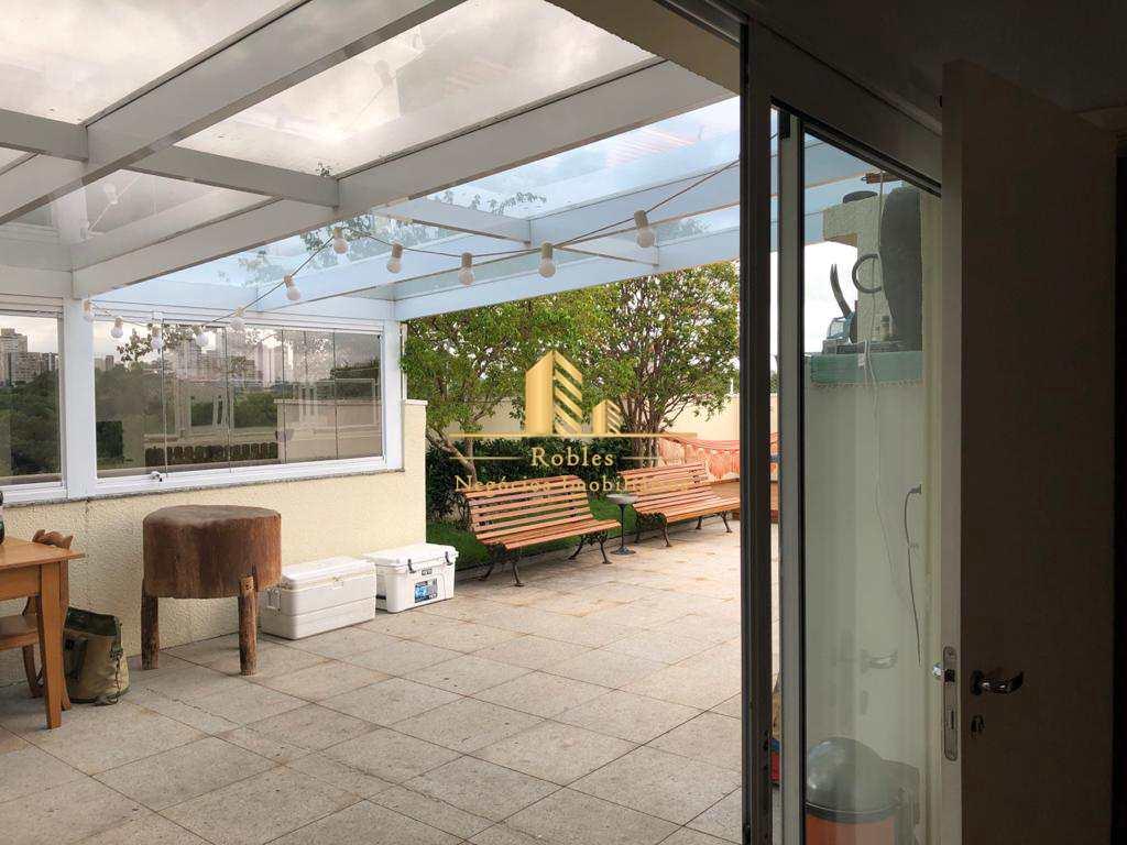 Cobertura em São Paulo, no bairro Chácara Santo Antônio (Zona Sul)
