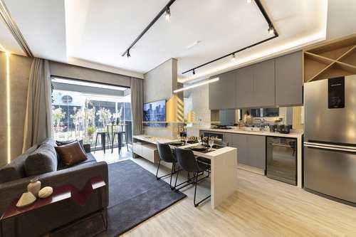 Apartamento, código 766 em São Paulo, bairro Pinheiros