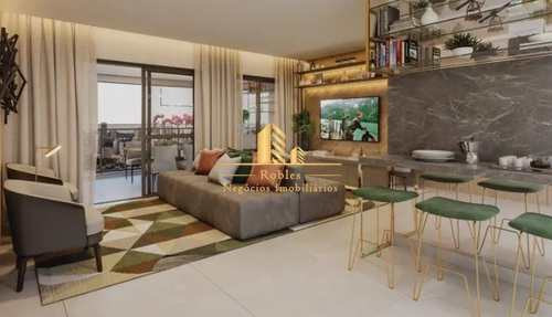 Apartamento, código 1722 em São Paulo, bairro Brooklin