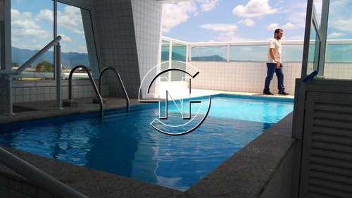 Apartamento, código 474 em Praia Grande, bairro Aviação