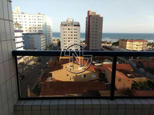 Apartamento, código 501 em Praia Grande, bairro Mirim