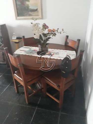 Apartamento, código 543 em Praia Grande, bairro Guilhermina
