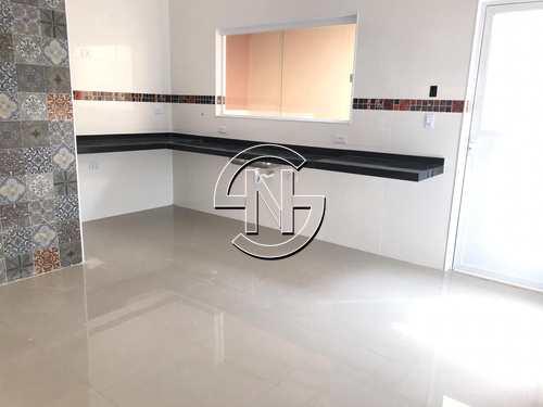 Casa de Condomínio, código 698 em Praia Grande, bairro Maracanã