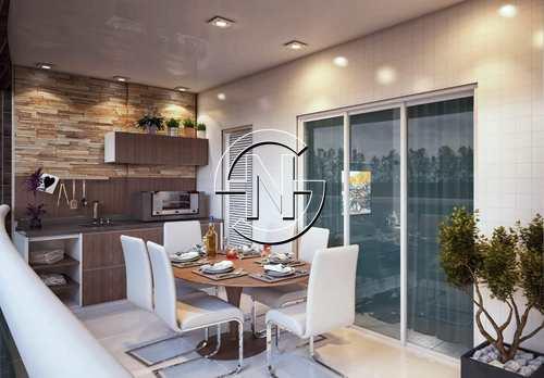 Apartamento, código 907 em Praia Grande, bairro Guilhermina