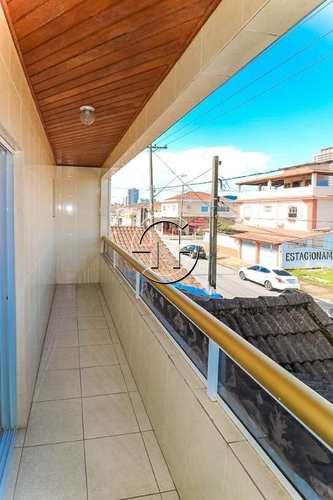 Sobrado, código 963 em Praia Grande, bairro Boqueirão