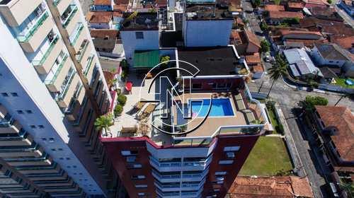 Cobertura, código 1045 em Praia Grande, bairro Canto do Forte