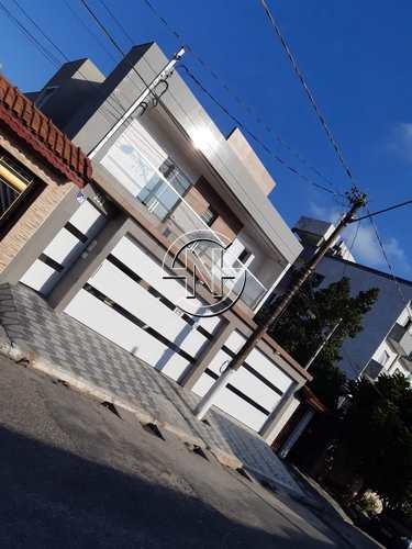 Sobrado de Condomínio, código 1163 em Praia Grande, bairro Guilhermina