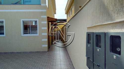 Casa de Condomínio, código 1425 em Praia Grande, bairro Nova Mirim