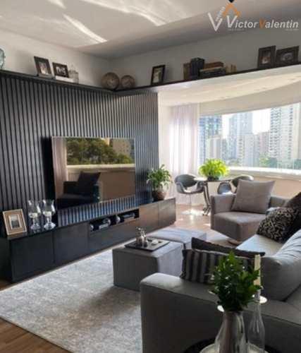 Apartamento, código 608 em São Paulo, bairro Brooklin Paulista