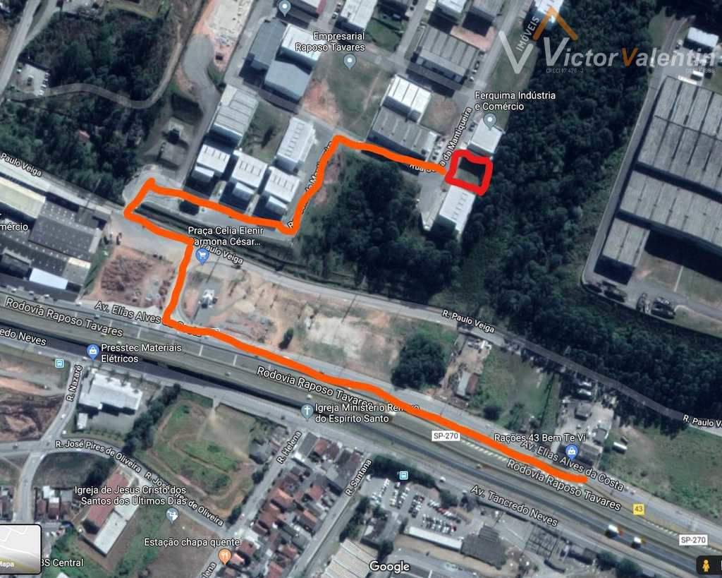 Terreno Comercial em Vargem Grande Paulista, no bairro Centro