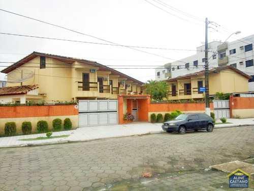 Casa de Condomínio, código ES120 em Praia Grande, bairro Guilhermina
