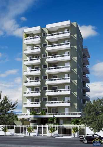 Apartamento, código ACT4451 em Praia Grande, bairro Guilhermina