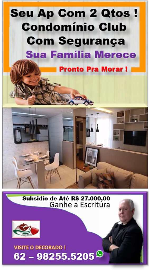 Apartamento em Goiânia, no bairro Setor Santa Rita