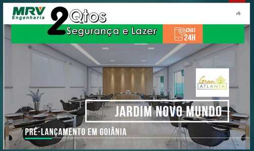 Apartamento, código 6 em Goiânia, bairro Jardim Novo Mundo