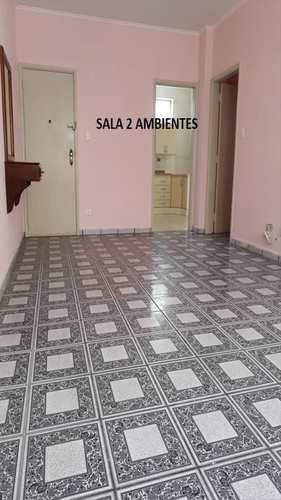Apartamento, código 10192 em São Vicente, bairro Centro