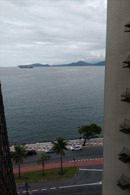 Apartamento, código 9893 em Santos, bairro Ponta da Praia