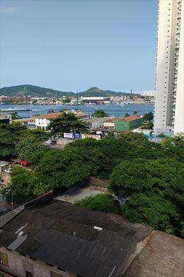 Apartamento, código 9891 em Santos, bairro Ponta da Praia