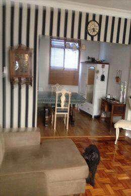 Apartamento, código 9733 em Santos, bairro Boqueirão