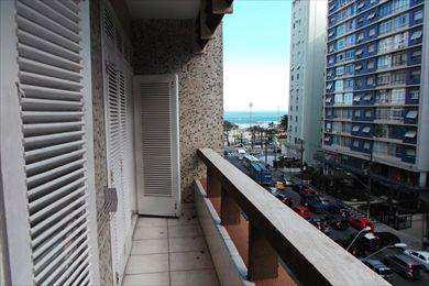 Apartamento, código 8664 em Santos, bairro Boqueirão
