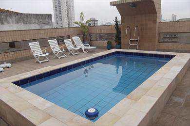 Apartamento, código 8540 em Santos, bairro Embaré