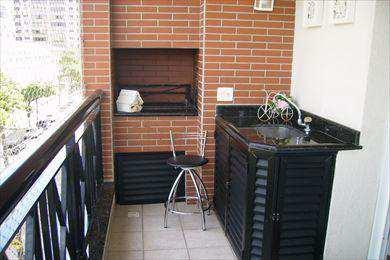 Apartamento, código 6008 em Santos, bairro Boqueirão