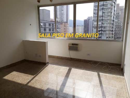 Apartamento, código 10536 em Santos, bairro Gonzaga