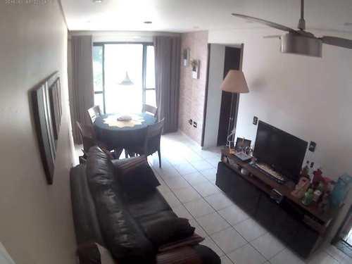 Apartamento, código 10607 em São Vicente, bairro Itararé