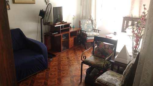 Sala Living, código 10710 em Santos, bairro Boqueirão