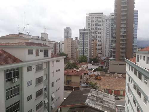 Apartamento, código 10730 em Santos, bairro Aparecida