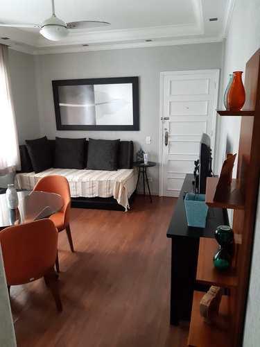 Apartamento, código 10940 em São Vicente, bairro Itararé