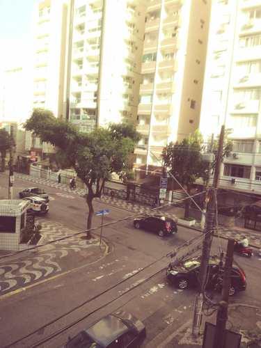 Apartamento, código 11087 em Santos, bairro Gonzaga