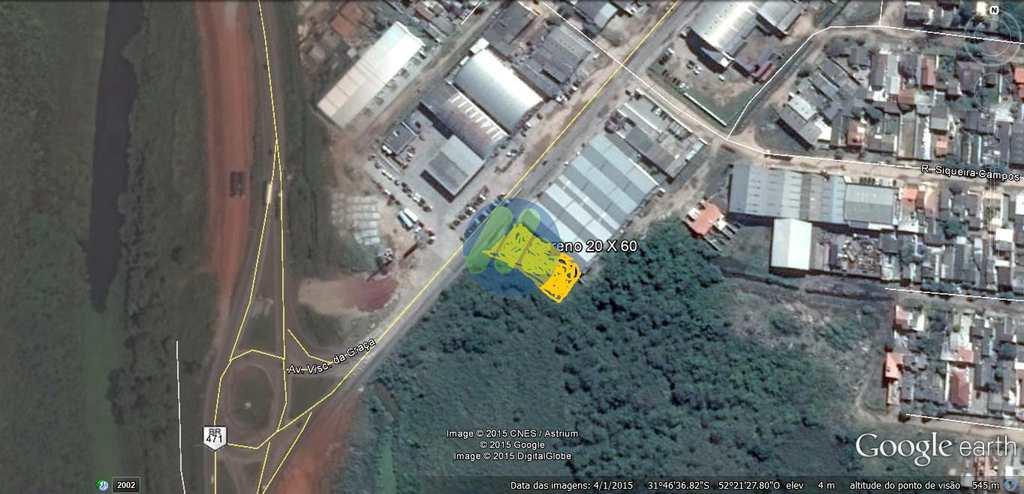 Terreno Comercial em Pelotas, no bairro Simões Lopes
