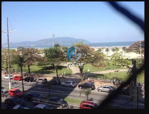 Apartamento, código 262 em Santos, bairro Gonzaga