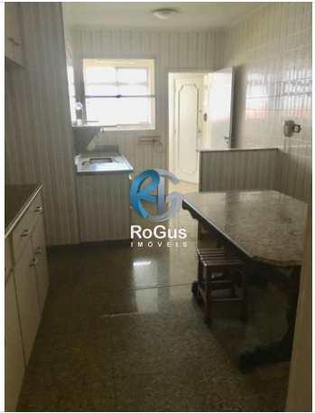 Apartamento, código 279 em Santos, bairro Boqueirão
